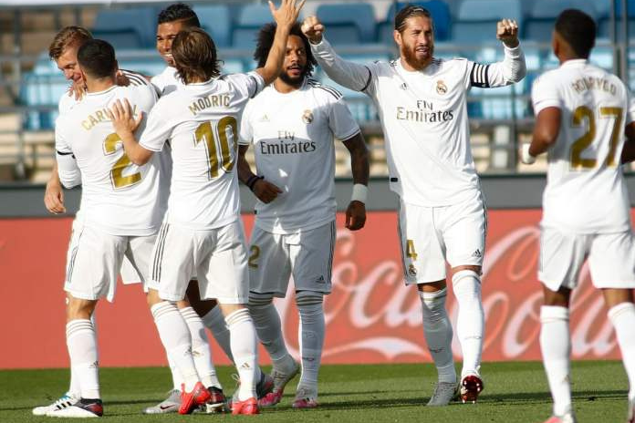 Real return with convincing win over Eibar